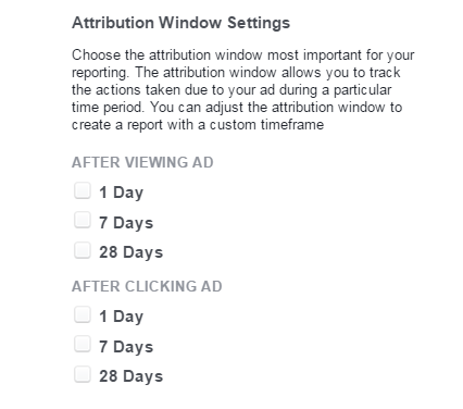 attribution window