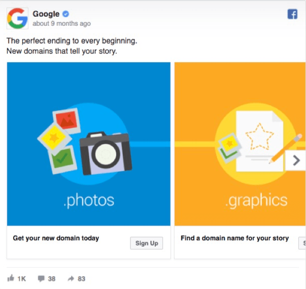 ad copies, ad creatives, Facebook ads, communication strategy